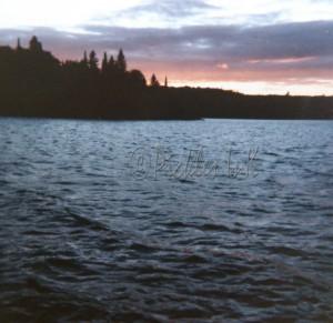 Sunset on the lake (2)