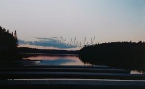 Sunset over docks (2)