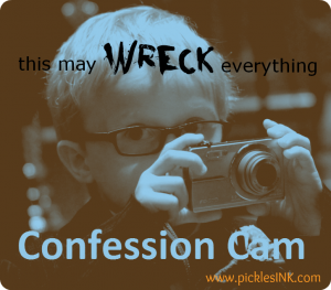 Ben with camera - wreck