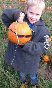 Ben's pumpkin lookalike