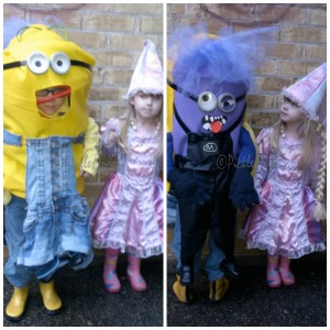 Minion and Rapunzel