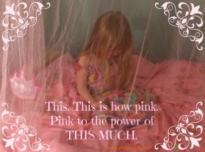 Pink to the power of pink