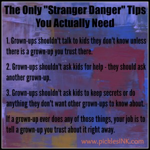 Stranger Danger Tips
