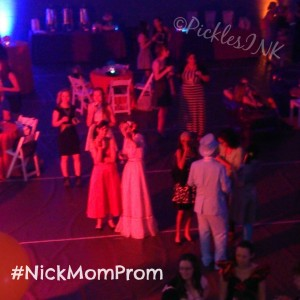 Retro Prom at Blog U. We ROCKED that joint! #NickMomProm