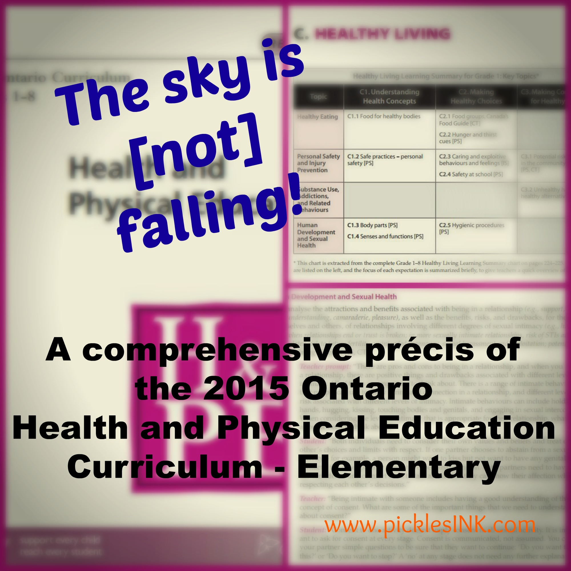 The sky is [not] falling! A comprehensive precis of the 2015 Ontario Health